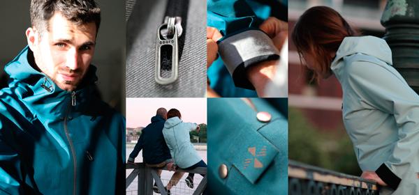 Gamme de vêtement outdoor sans couture Aouro conçue par TopTex3.