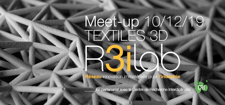 Meet-Up R3iLab sur l'impression 3D et 3D Pinting